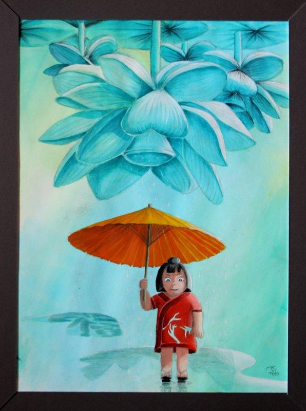 Atelier Bonamy - Céline Roblet - Fleur d'Orient
