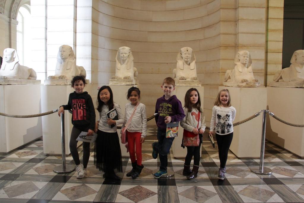 Atelier Bonamy - Sortie - Le Louvre