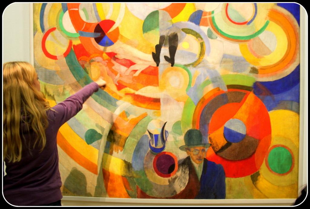 Atelier Bonamy - Sortie - Delaunay Pompidou
