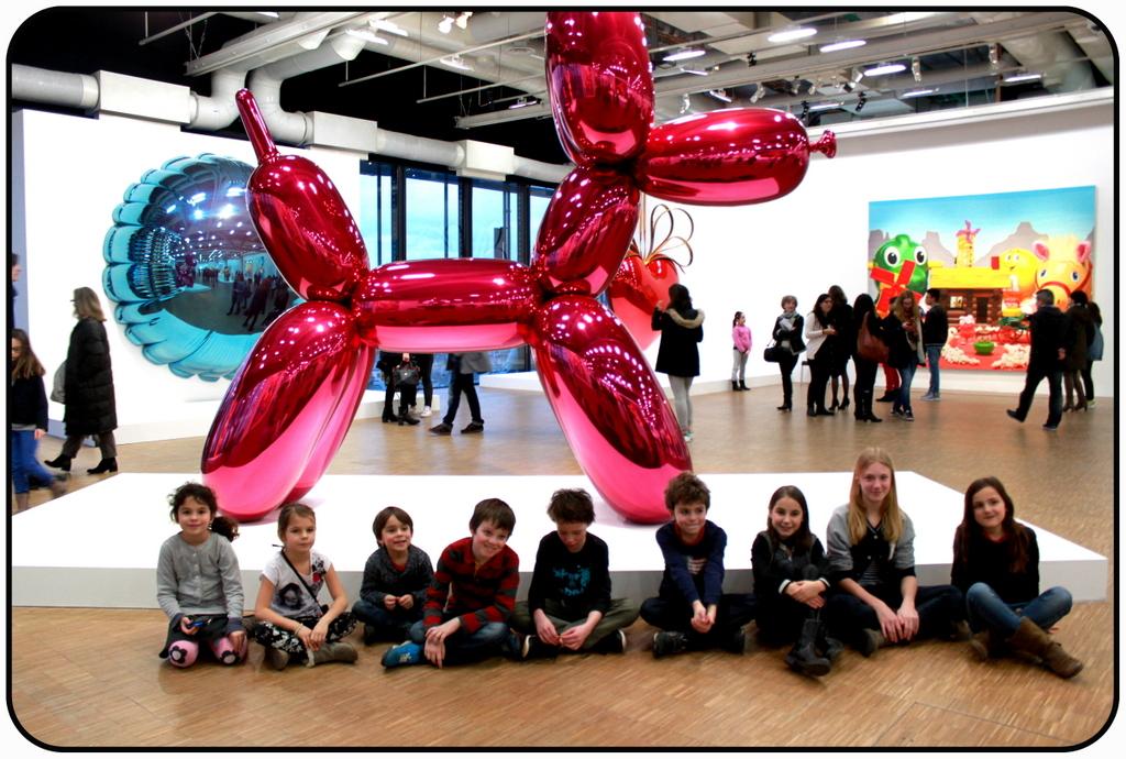 Atelier Bonamy - Sortie - Koons Pompidou